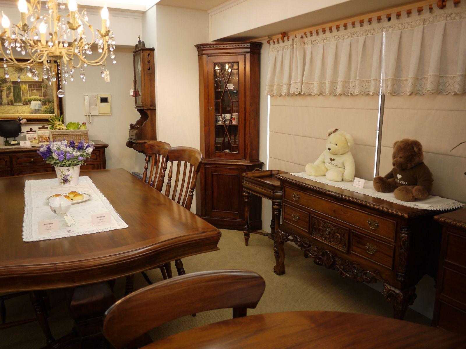 原木家具-餐桌