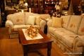 歐式沙發+長茶桌
