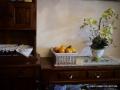 餐邊櫃+長邊桌