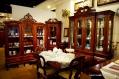 餐桌椅+展示櫃