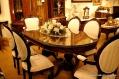 古典橢圓餐桌