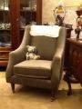 鐵灰絨單椅
